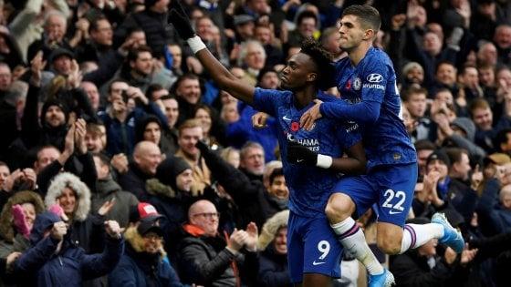Inghilterra, Chelsea e Leicester al secondo posto. Ancora pari per il Tottenham