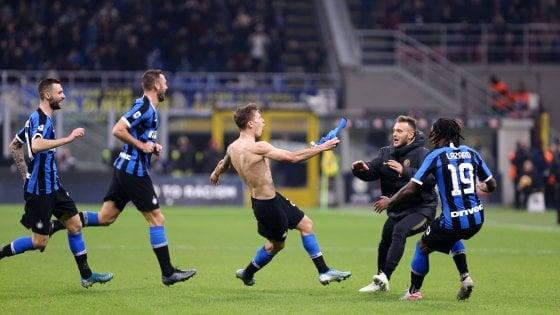 Inter-Verona 2-1, una magia di Barella abbatte il muro dei veneti