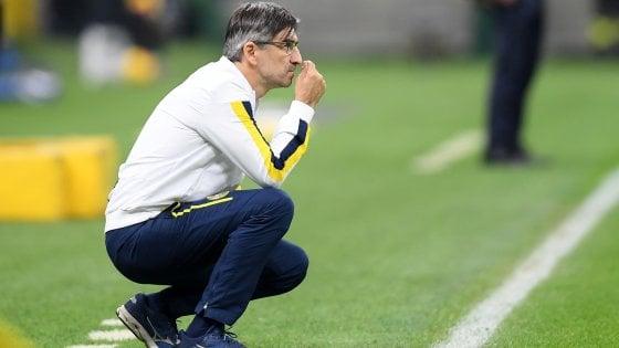 Verona, Juric: ''Inter forte, più di così non potevamo fare''