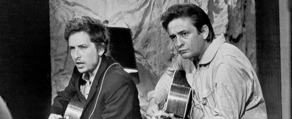 Bob Dylan e Johnny Cash, in un box la storia della loro collaborazione