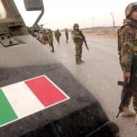 Iraq, attentato contro militari italiani: cinque feriti