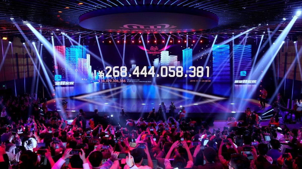 Alibaba, le vendite del Single's Day battono le attese: sfiorati 35 miliardi