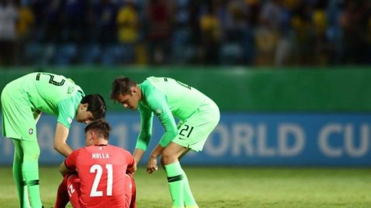 Mondiali Under 17, Brasile troppo forte, l'Italia saluta ai quarti