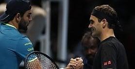 Berrettini cresce, ma Federer è ancora troppo forte