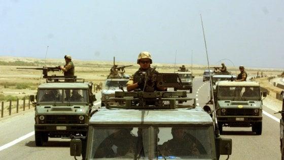 Attentato Iraq, i cinque militari italiani trasferiti in Germania