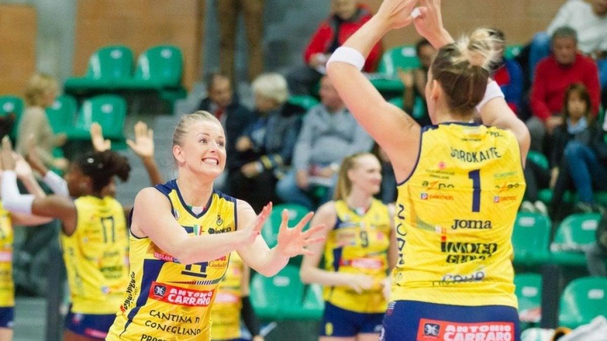 Volley femminile, Serie A1: Conegliano inarrestabile. Novara riparte a Caserta - la Repubblica
