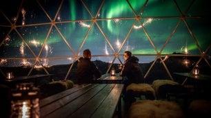 Aurora boreale: il campo base