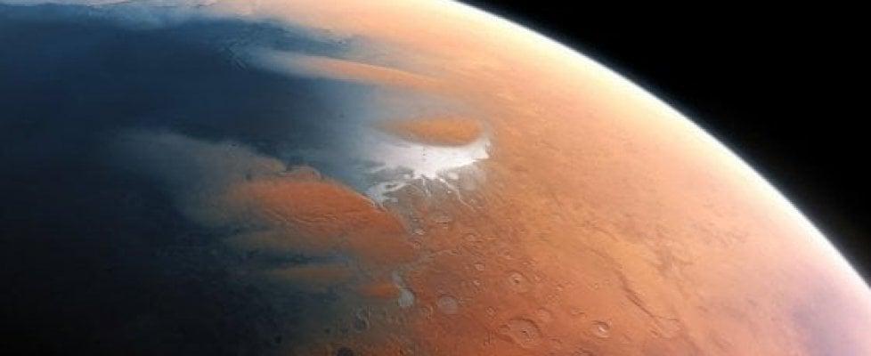 Misteriosa presenza di ossigeno nell'atmosfera di Marte