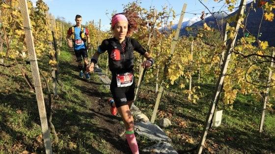Valtellina Wine Trail, correre tra le vigne inseguendo un'emozione