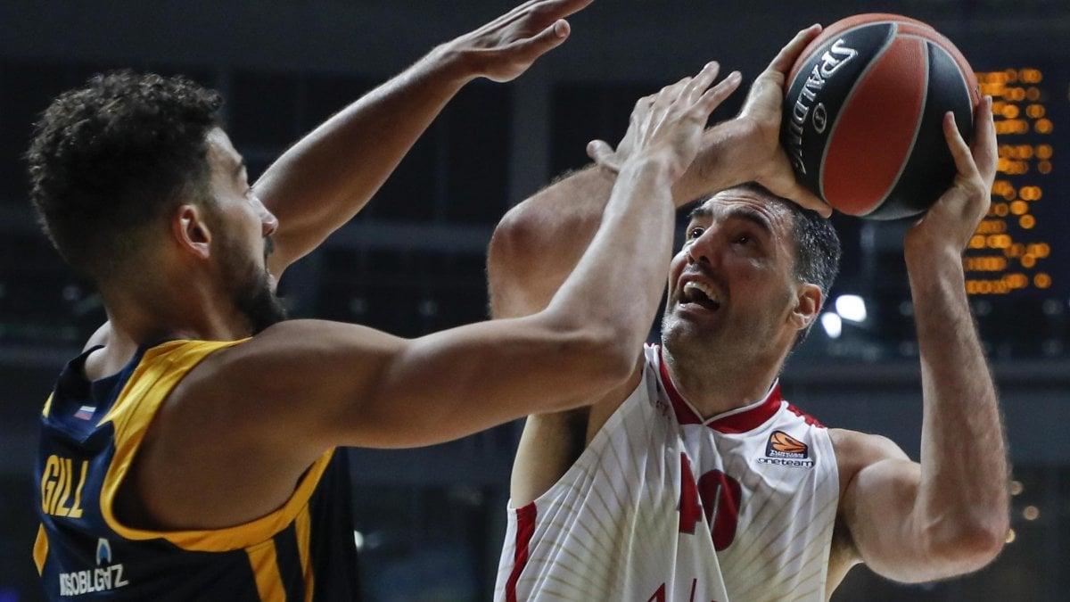 Basket, Eurolega: l'Olimpia cade a Mosca, Khimki-Milano 87-79