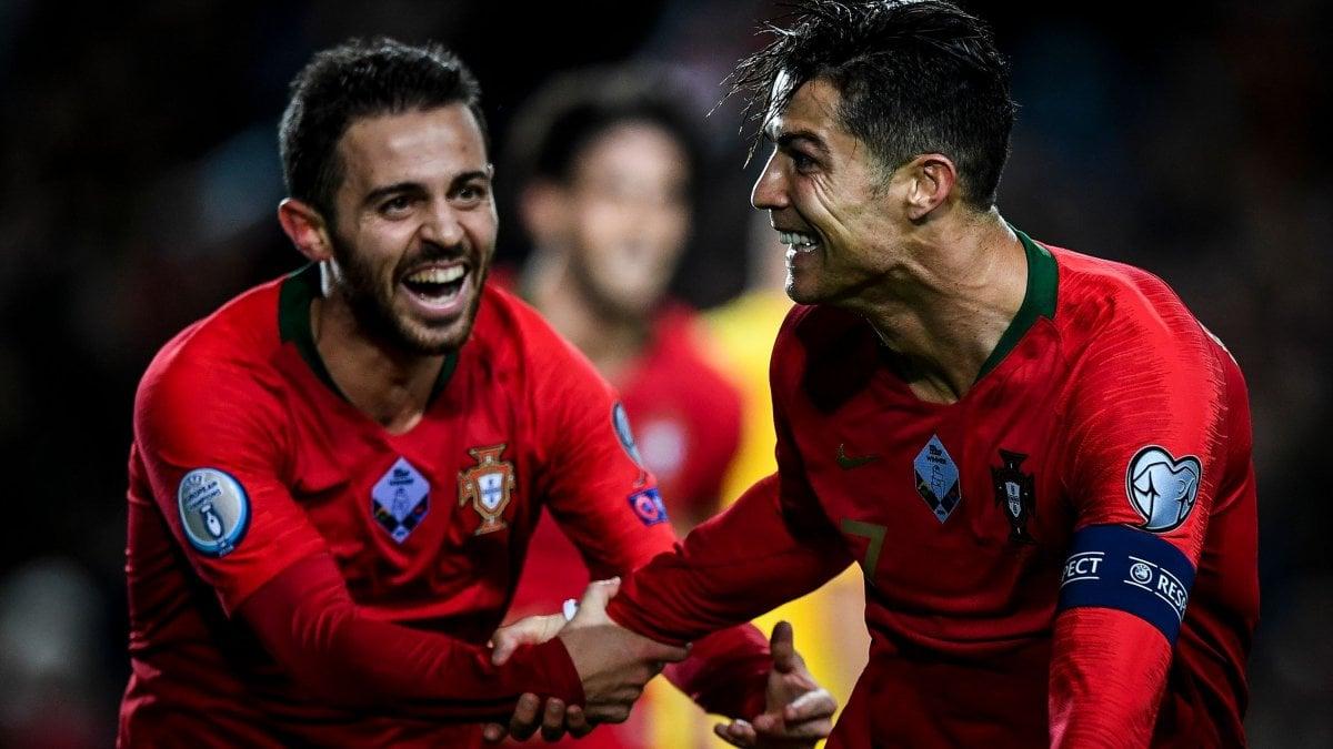 Euro 2020: qualificate Francia, Inghilterra, Turchia e Repubblica Ceca. Tripletta di Ronaldo, quasi fatta per il Portogallo
