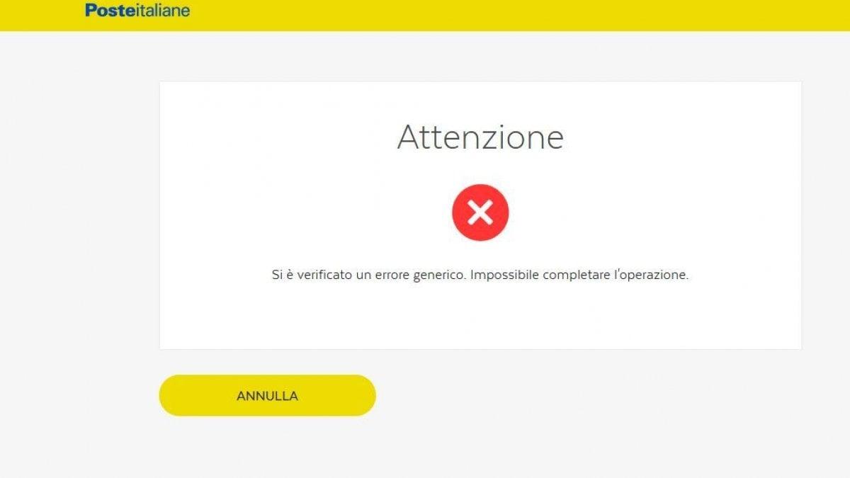 Poste Italiane, disagi online: difficile accedere ai servizi BancoPosta ...