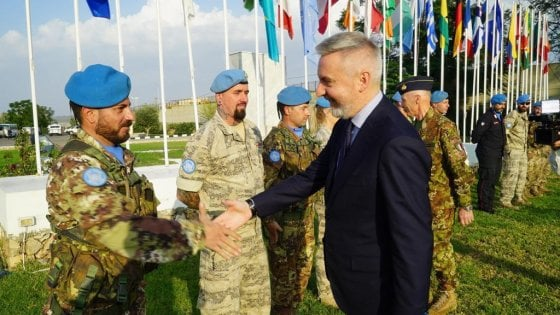 """Il comandante italiano di Unifil: """"Il nostro ruolo è prevenire incidenti tra israeliani e libanesi"""""""