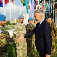 """Il comandante italiano di Unifil: """"Il nostro ruolo è prevenire incidenti tra israeliani e..."""