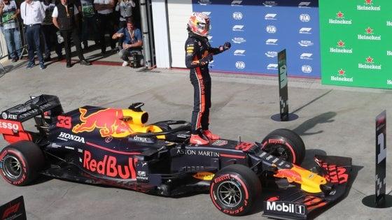 F1, Gp del Brasile: Verstappen in pole, Vettel in prima fila
