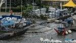 Campania, strade allagate e danni ai circoli nautici di Napoli. Domani scuole chiuse nel Casertano
