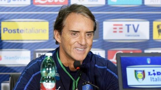Nazionale, Mancini pensa già alle scelte: ''Sarà dura lasciare qualcuno a casa''