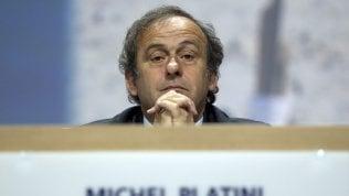 """Platini: """"Colpito perché non mi volevano presidente della Fifa"""""""