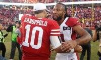 Nfl, Garoppolo firma la rimonta 49ers. Edelman versione Brady per i Pats. Ravens incontenibili