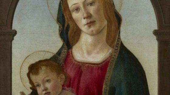 """Galles, il Botticelli """"riscoperto"""" dopo un restauro. Era considerato una copia"""