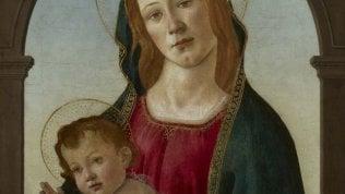 """E' opera di Botticelli la """"Madonna con bambino"""" del museo di Cardiff. Si pensava a una copia"""