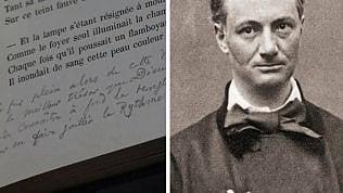 """I versi mai letti di Baudelaire: ecco l'inedito dei """"Fiori del Male"""""""