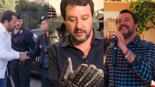 Polizia, canzoni e orsetti: così Salvini punta i giovani su TikTok