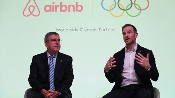 AirBnb sponsor delle Olimpiadi, partnership speciale con il Cio
