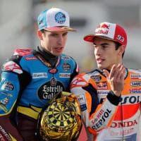 Alex con Marc, la Honda diventa casa Marquez