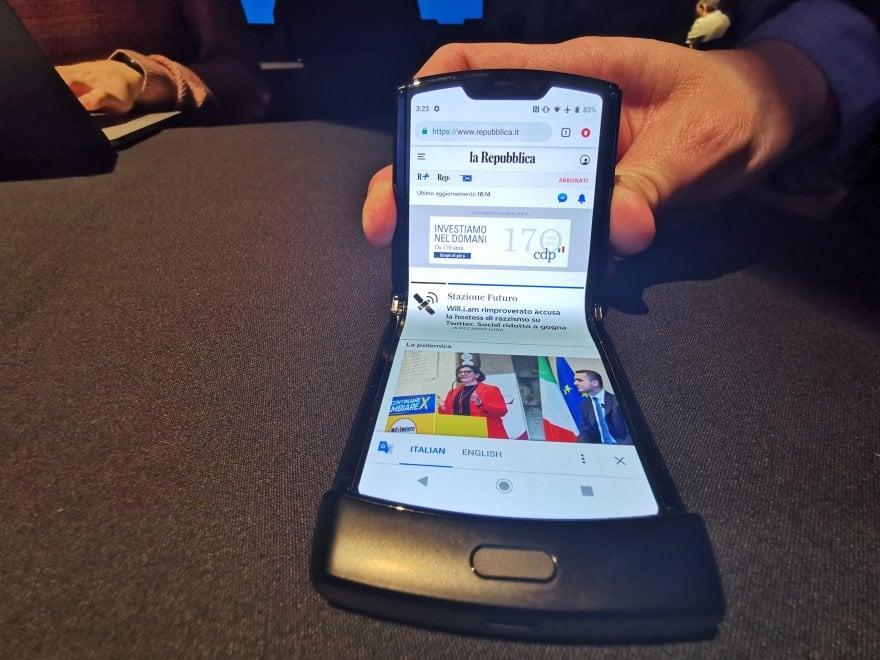 Motorola Razr, il ritorno della