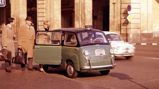 Fiat 600 Multipla show: conquista Londra
