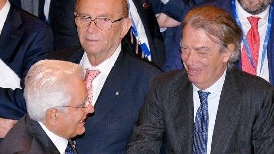 """Inter, Moratti: """"Il ritorno di Mourinho è un sogno per tutti, ma Conte sta facendo grandi cose"""""""