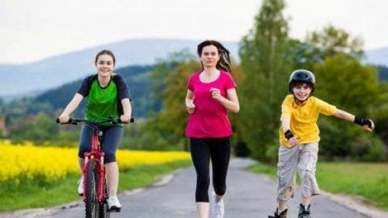 L'Oms: l'80% degli adolescenti non fa abbastanza attività fisica