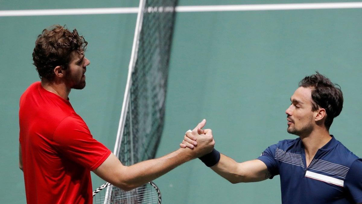 Tennis, Coppa Davis: Italia avanti 1-0 contro gli Stati Uniti