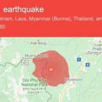 Terremoto in Laos avvertito anche in Thailandia: paura prima del discorso di Bergoglio