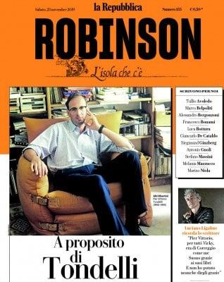 Robinson La grande lezione breve di Tondelli: l'omaggio di Ligabue