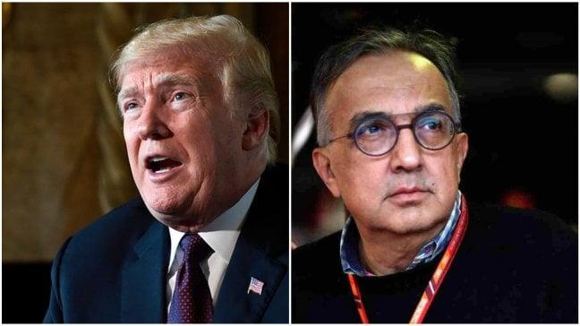 Il pressing di Trump dietro le accuse a Marchionne: boicottaggio all'alleanza con Psa