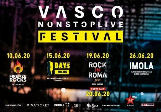 Vasco Rossi da record, al Circo Massimo, si raddoppia: tutto esaurito il 19, nuova data il 20 giugno