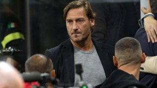 """Totti: """"Se la Roma mi chiedesse di tornare risponderei di no"""""""