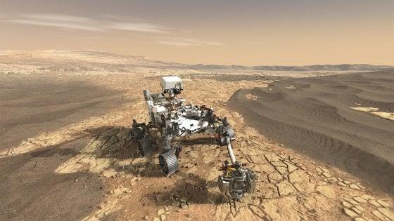 Mars 2020, un'occasione perfetta per cercare fossili marziani