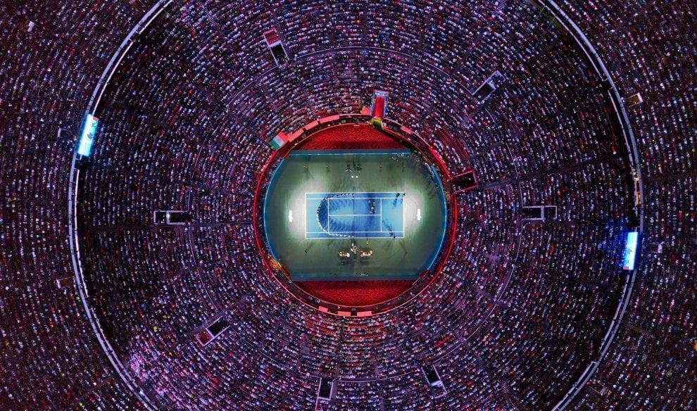 Tennis, in 42 mila in Messico per Federer: è record di spettatori