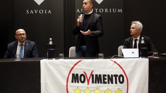 """M5S, Di Maio: """"Emilia non è referendum per governo, aperti a liste civiche"""". """"Ma nessuno metta il cappello sopra le Sardine"""""""
