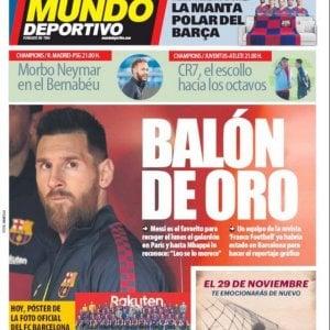 """Indiscrezione dalla Spagna: """"Messi ha vinto il Pallone d'Oro"""""""