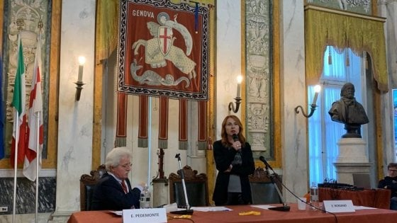 Elisabetta Romano a Genova