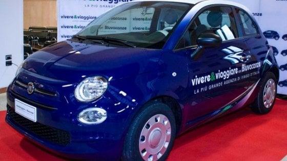 Duecento Fiat 500 nella flotta Vivere&Viaggiare e Bluvacanze
