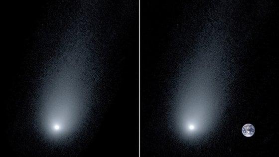 """Nuove immagini della cometa interstellare: ecco la """"coda"""" di Borisov, lunga 12 volte la Terra"""