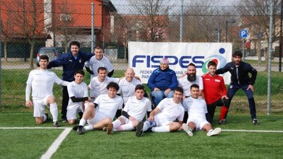 Calcio a 7, ad Abano Terme il raduno della Nazionale atleti con cerebrolesione