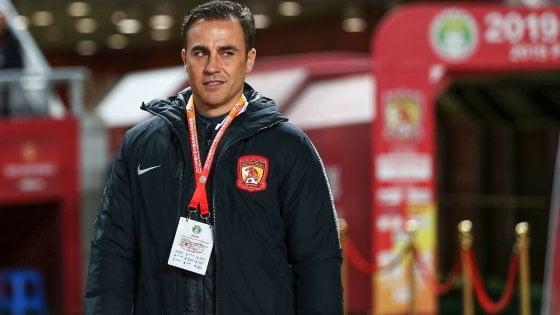 Cina: Cannavaro a un passo dal titolo, retrocede lo Shenzhen di Donadoni. Lavezzi si ritira