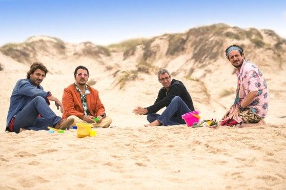 Quattro amici e 'Un figlio di nome Erasmus', con Paolo e Luca, Ricky Memphis e Daniele Liotti