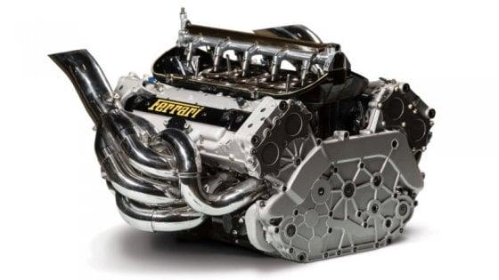 All'asta il leggendario motore Ferrari V10 di Schumi